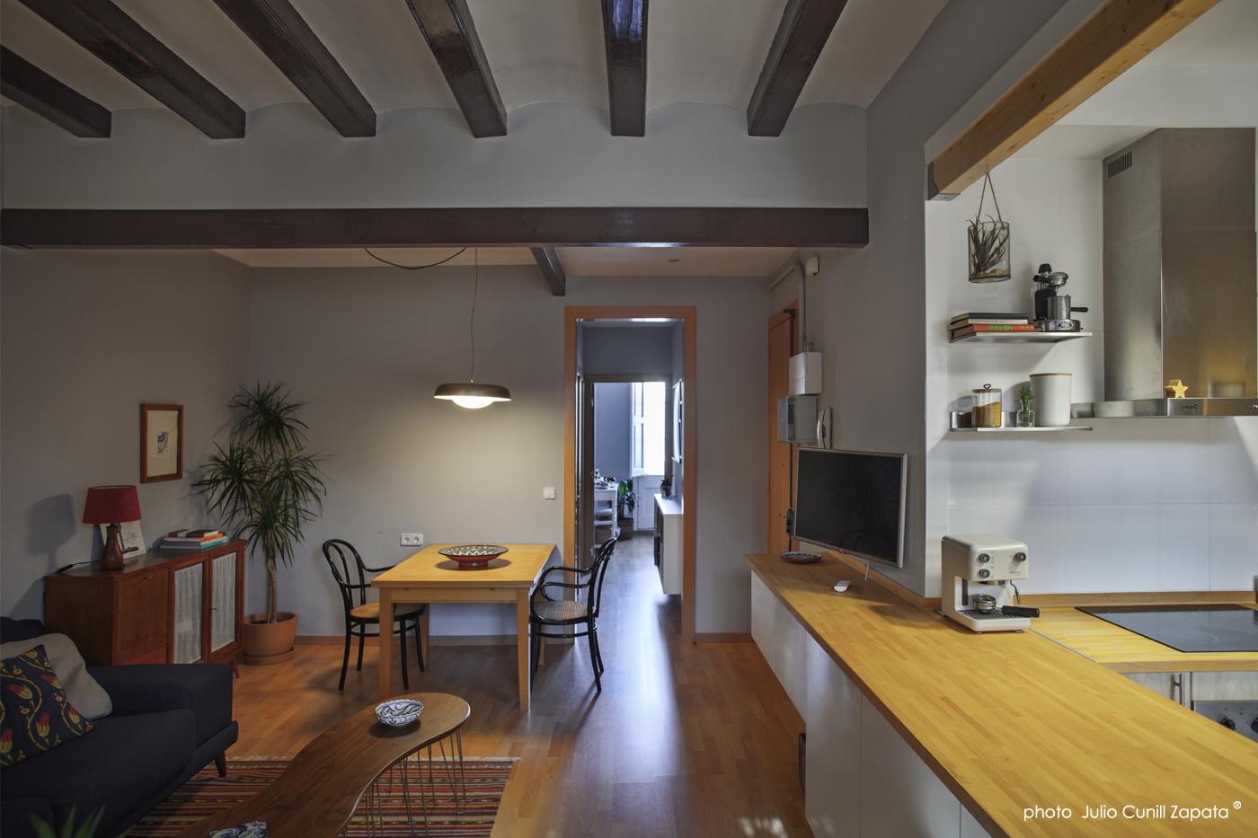 Reforma piso en gr cia barcelona mobla manufactured - Reforma pisos barcelona ...