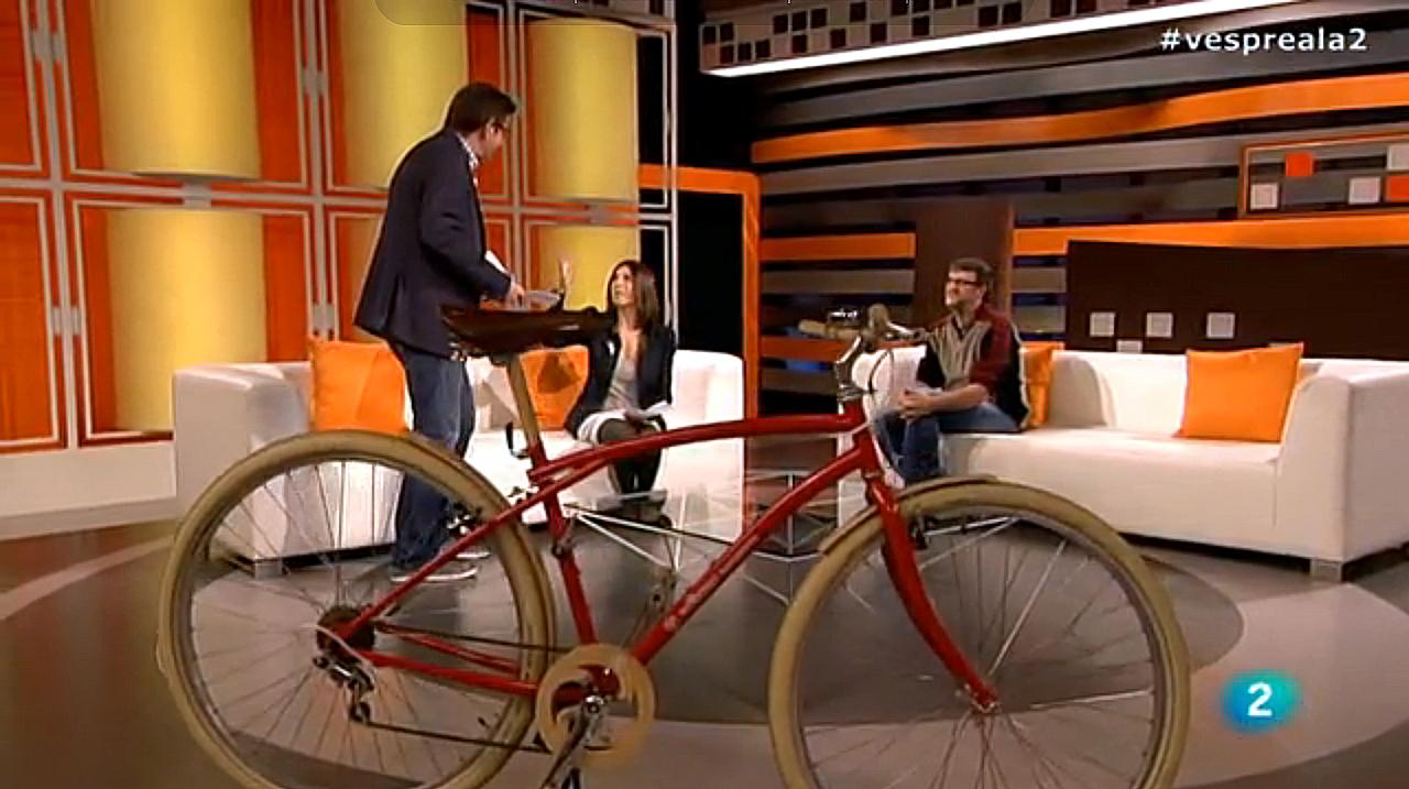 Woodbike, Barcelona, bicicleta, complementos, madera, Vespre a La 2